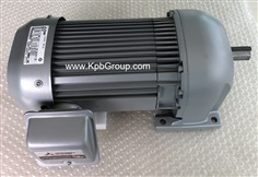 MITSUBISHI Geared Motor GM-SP, 0.75kW 200V 3PH 4P 50Hz 1/20