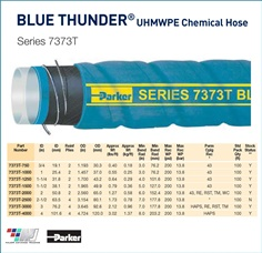 BLUETHUNDER : UHMWPE Chemical Hose