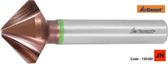 Precision solid carbide countersink with unequal spacing 90 ํ TiAlN