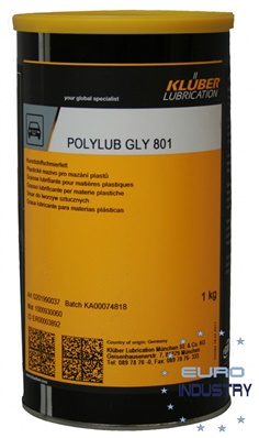 KLUBER POLYLUB GLY 801 GREASE จารบี KLUBER Special synthetic lubricating greases for a wide application range ขนาด 1 kg. มีสินค้าพร้อมส่ง