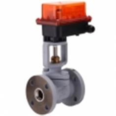 Aฺctuator Ball Valve For Steam