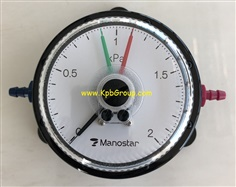 MANOSTAR Low Differential Pressure Gauge WO81FT2E