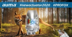 The new AUMA PROFOX – Excellence for actuators!