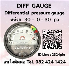 Capsuhelic Differential Pressure Gauge