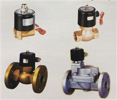 UNI-D Solenoid Valve for Air, Water, Oil, Steam - High Temperature, NC