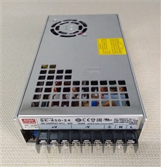 MEANWELL: Switching power supply: SE-450-24 , 450W 24vdc 18.85A **NEW ราคาโปร 1,900.-**