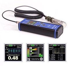 Vibration meter, analyzer, data collector