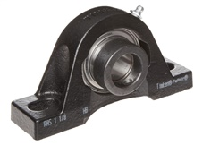"Timken (Fafnia)  RAO2 3/16 Ball Bearing Pillow Block, 2 Bolt Holes, Relubricatable, Non-Expansion, Cast Iron, Eccentric Locking Collar, Steel Insert, Inch, 2-3/16"" Bore Diameter - สั่งล่วงหน้า 30 - 45 วัน"