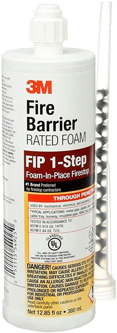 3M  Fire Barrier Rated FIP 1-Step