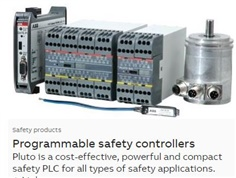 ABB PLC : Programmable safety controller