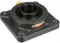 "Sealmaster 3-3 Bearing Insert, Medium Duty, Setscrew Locking Collar, Felt Seals, 3"" Bore, 140mm OD, 3-1/4"" Width, 1-11/16"" Outer Ring Width"