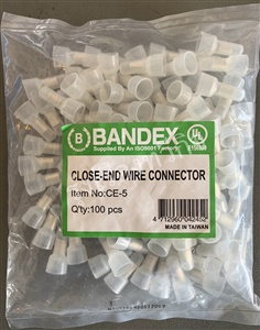 Close End Wire Connector (หัวหมวกย้ำสาย) CE5