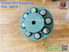"CROWN PIN COUPLING FCL160 (6"")"