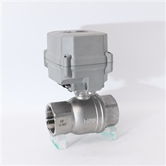 Proportional Electric Actuator 2Way Ball Valve  4-2mA