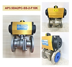 Actuator with Ball Valve