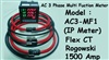 AC 3 Phase Multifunction Power Meter (IP meter) + Flex CT 1500 Amp