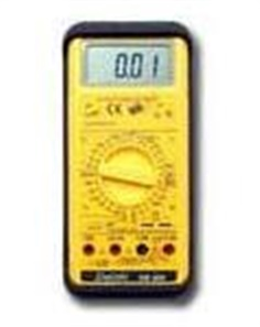 Digital Multimeter Portable Measurement DM 200, DM 202