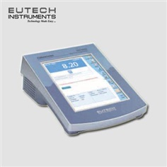 Water Analysis CyberScan PC 6000 touchscreen meter.