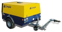 CompAir Portable Compressors 3 m3/min