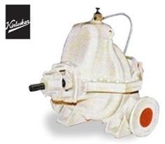 KIRLOSKAR HORIZONTAL AXIALLY SPLIT CASING PUMPS TYPE : DSM