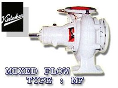 MIXED FLOW PUMPS TYPE : MF