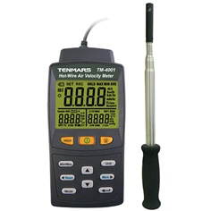 Hot wire Anemometer with CERTIFICATE, KIMO