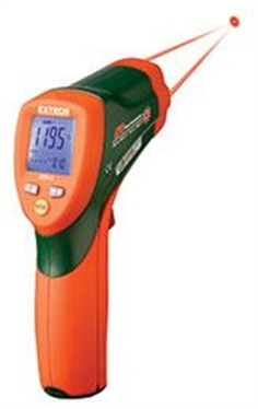 Dual Laser InfraRed Thermometer เทอร์โมมิเตอร์ 42512 EXTECH Dual Laser InfraRed Thermometer เทอร์โมม