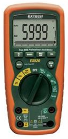 Digital Multimeter 11 Function Heavy Duty True RMS MultiMeter รุ่น EX520