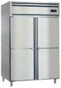 Upright refrigerator