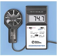 Traceable Digital Anemometer with Thermometer