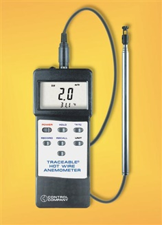 Hot Wire Anemometer/Thermometer