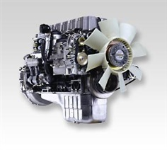 The automotive engine 125 - 235 kW  /  168 - 315 hp