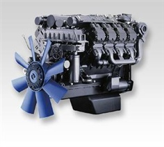 The automotive engine 330 - 440 kW  /  443 - 590 hp