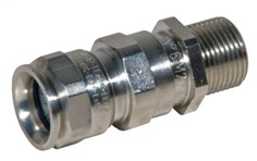 Ex-NICKEL PLATED BRASS CABLE GLAND