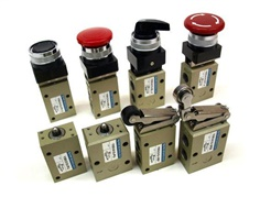 YPC- 3/2 MECHANICAL VALVES YMV310-, YMV410-