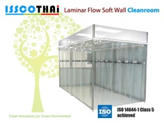 Laminar Flow Soft Wall Cleanroom (Cleanbooth)