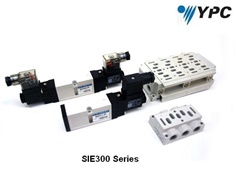 YPC- 5/2, 5/3 Solenoid Valves  SIE300  Series Sub Base Type
