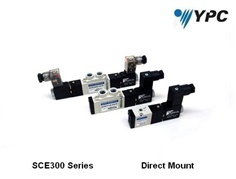 YPC- 3/2,,5/2, 5/3 Solenoid Valves  SCE300D  Series Direct Mount Type