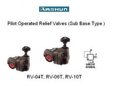 ASHUN - Pilot Operated Relief Valves