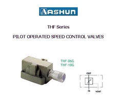 ASHUN - Pilot Operated Speed Control Valves