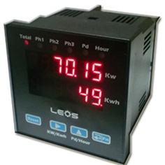 AC 3 Phase Kw & Kwh Meter