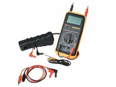 Automotive multimeter with inductive clamp