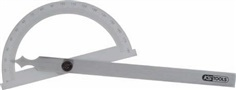 Protractor with open arch