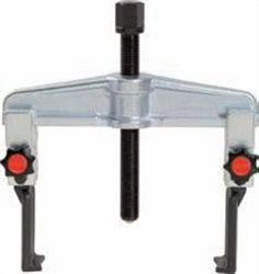 Quick release universal 2 arm puller set with narrow legs