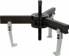 Universal 3 arm puller for using with hydraulic cylinder