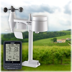 Weather Station Atomic Clock Barometer Humidity Alarm