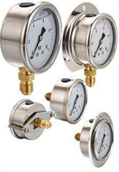 Pressure Gauge LF Liquid Filled Gauge
