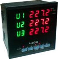 AC 3 Phase Volt Meter + Phase Protection + Voltage Selector Switch