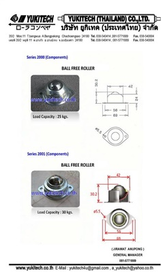 บอลเปลียนทิศทาง, BALL TRANSFER, BALL TRANSFER UNIT, BALL FREE ROLLER, TABLE BALL TRANSFER