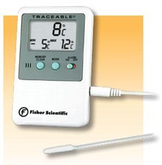Memory Monitoring Thermometer